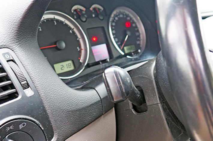 AHD Gebrauchtwagen Fahrzeugaufbereitung Cockpit nachher