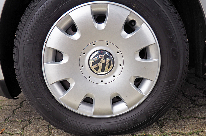 AHD Gebrauchtwagen Fahrzeugaufbereitung Felge nachher