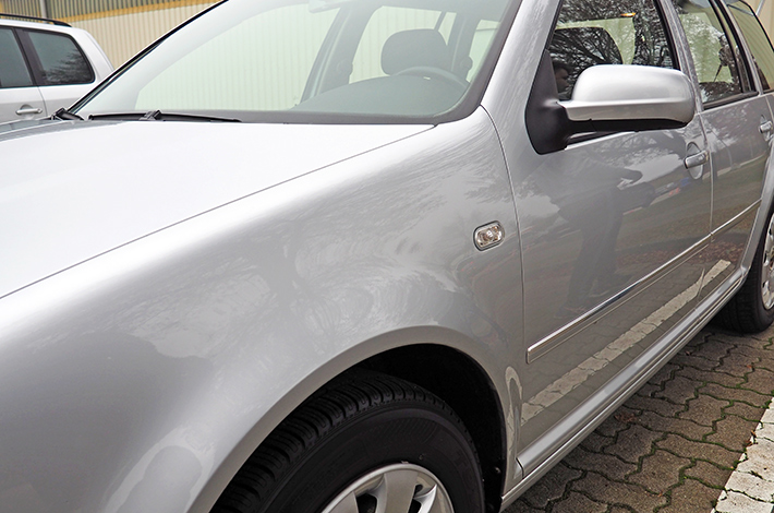 AHD Gebrauchtwagen Fahrzeugaufbereitung Lack nachher