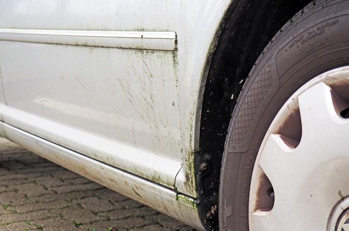 AHD Gebrauchtwagen Fahrzeugaufbereitung Reifen Lack vorher