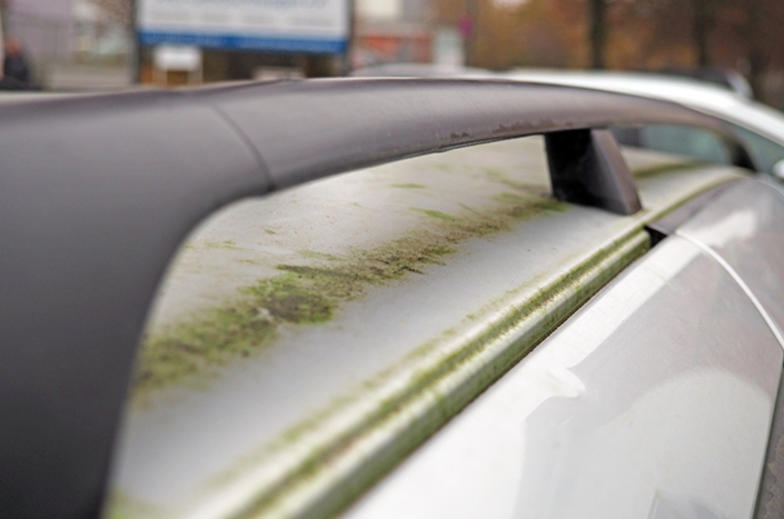 AHD Gebrauchtwagen Fahrzeugaufbereitung Reling vorher